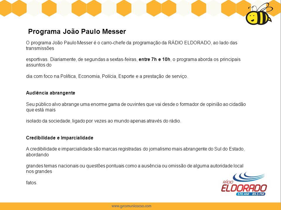Programa João Paulo Messer