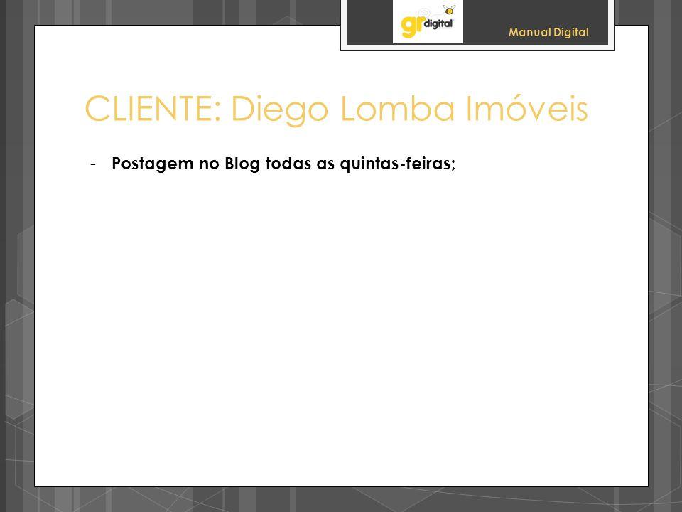CLIENTE: Diego Lomba Imóveis
