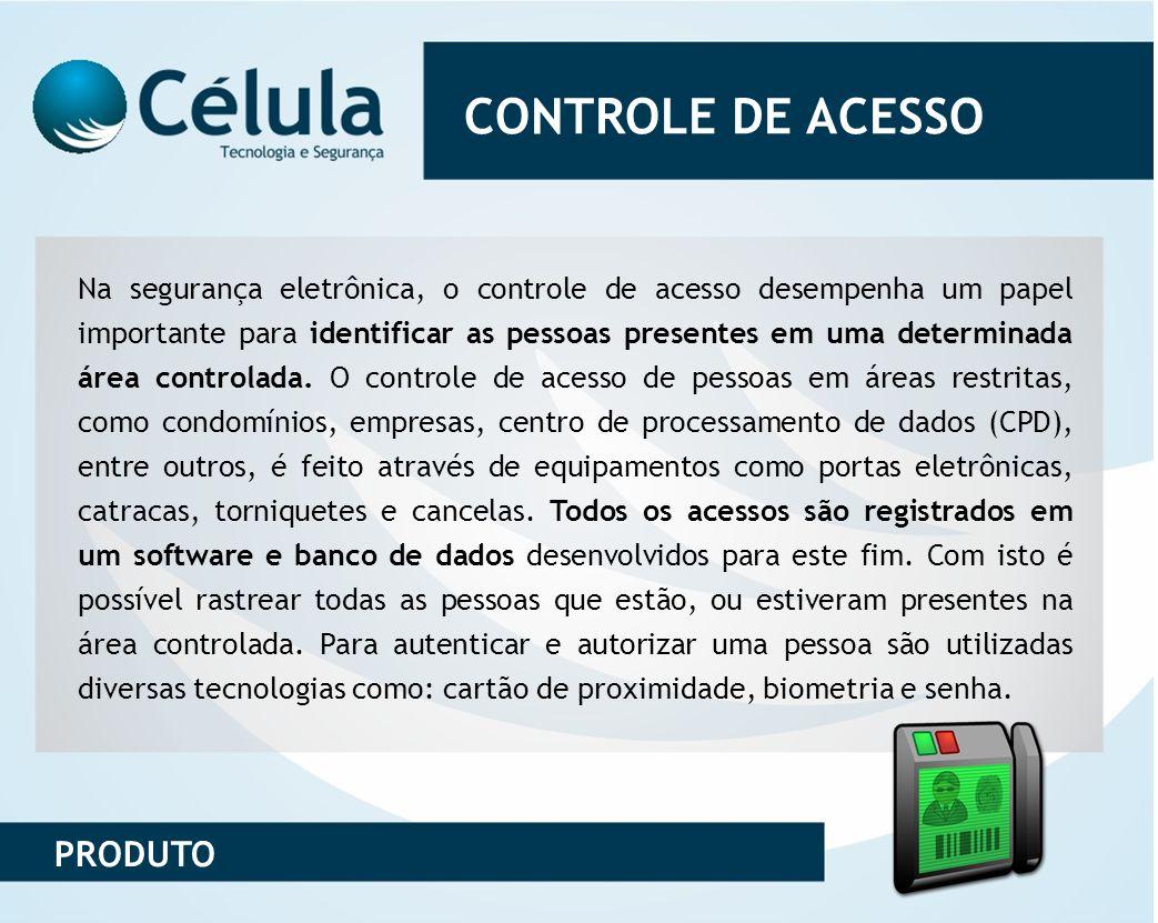 CONTROLE DE ACESSO PRODUTO