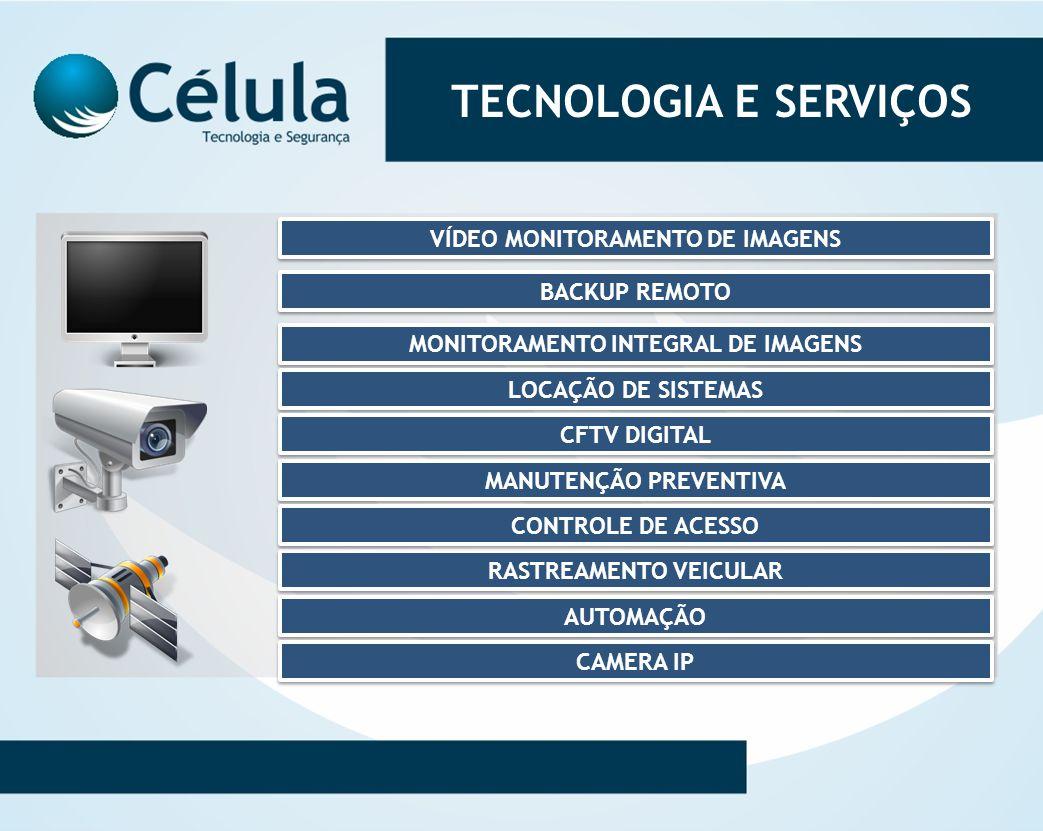 TECNOLOGIA E SERVIÇOS VÍDEO MONITORAMENTO DE IMAGENS BACKUP REMOTO