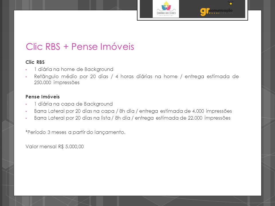 Clic RBS + Pense Imóveis