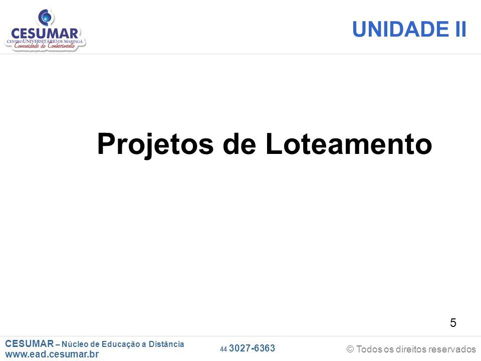 Projetos de Loteamento