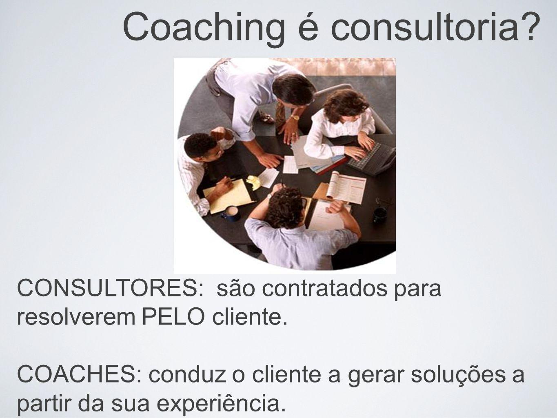 Coaching é consultoria