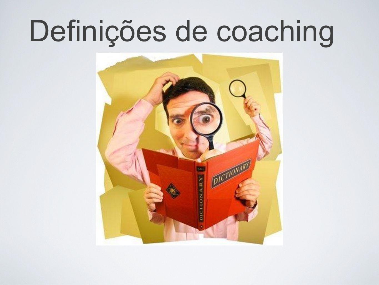 Definições de coaching
