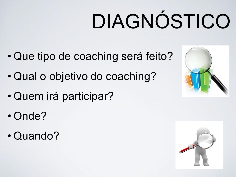 DIAGNÓSTICO Que tipo de coaching será feito