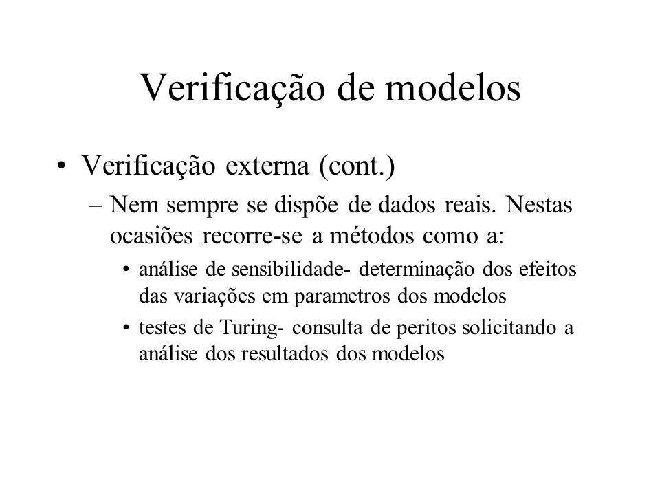 Verificação de modelos