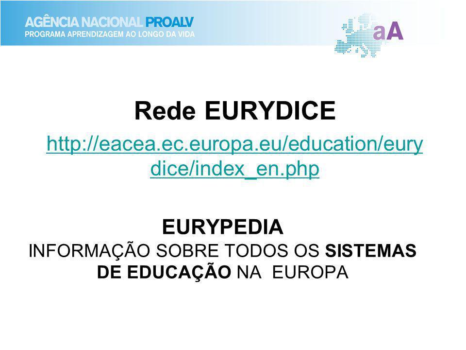 EURYPEDIA INFORMAÇÃO SOBRE TODOS OS SISTEMAS DE EDUCAÇÃO NA EUROPA