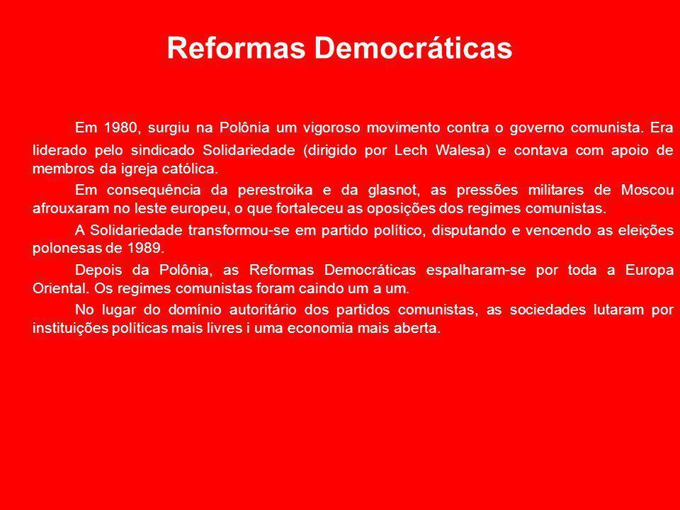 Reformas Democráticas