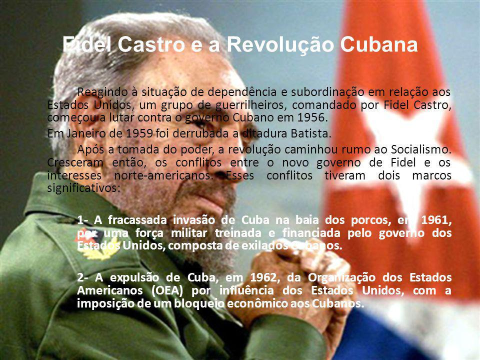 Fidel Castro e a Revolução Cubana