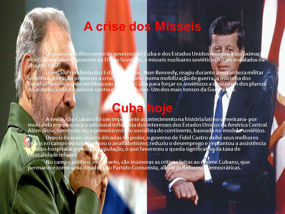 A crise dos Mísseis Cuba hoje