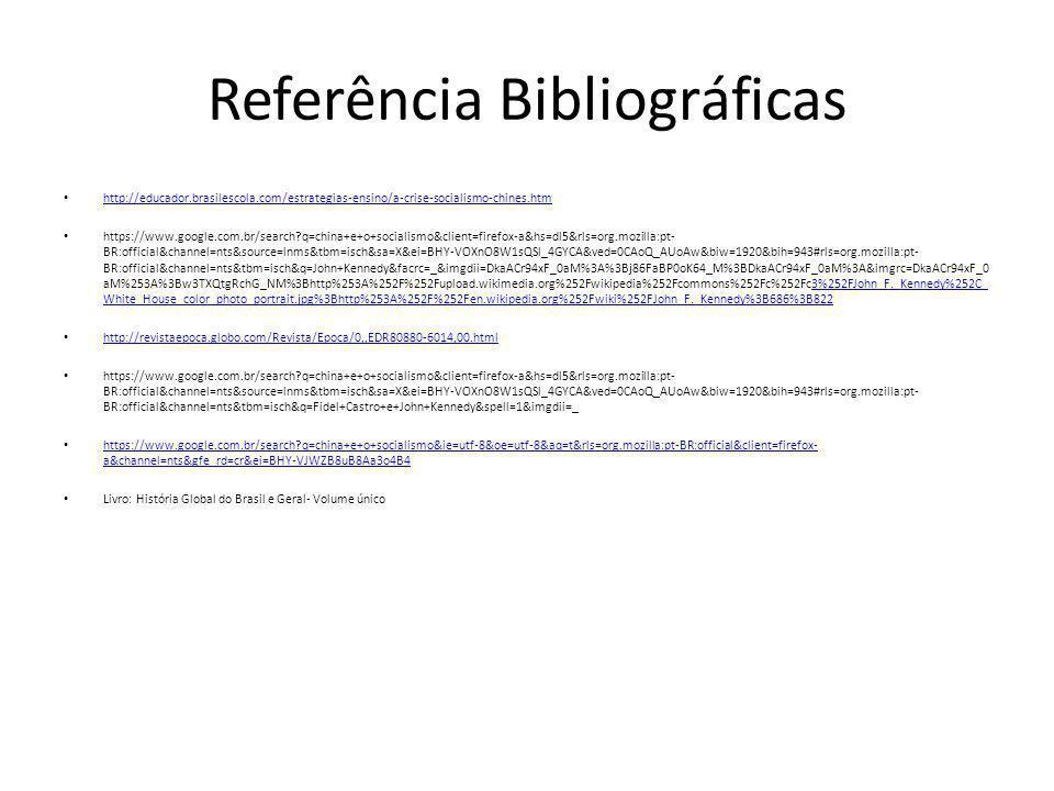 Referência Bibliográficas