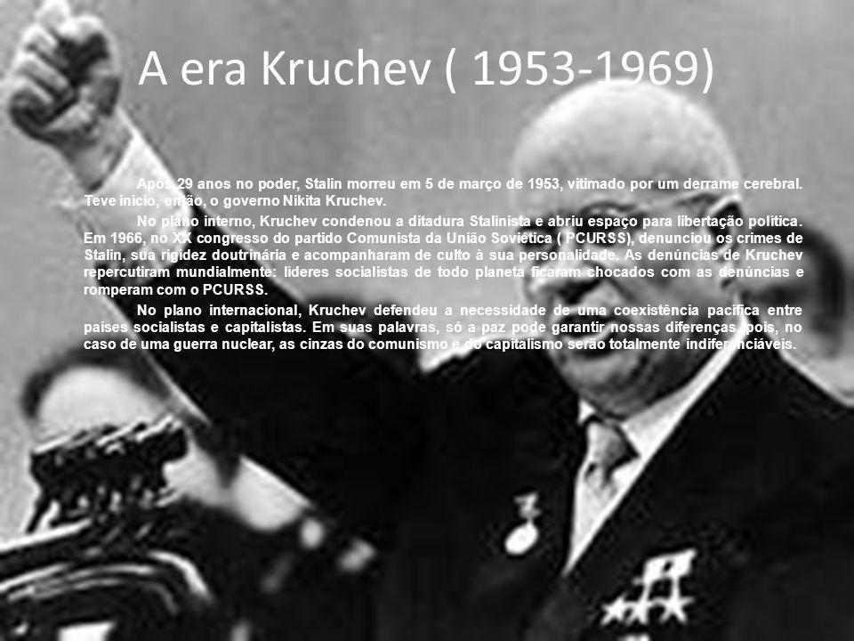 A era Kruchev ( 1953-1969)