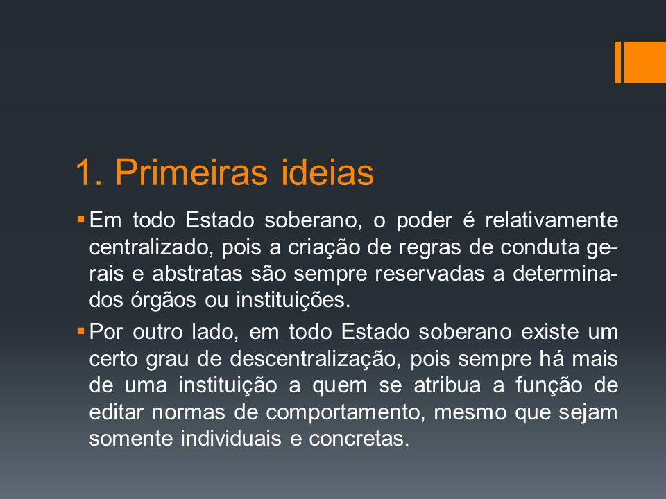 1. Primeiras ideias