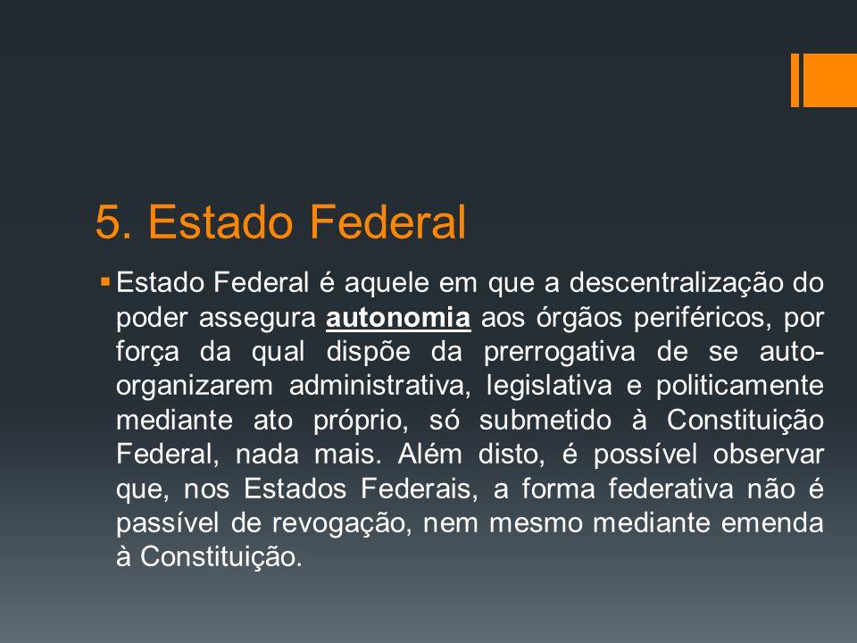 5. Estado Federal