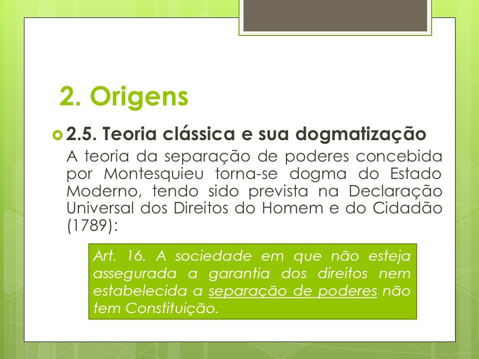2. Origens 2.5. Teoria clássica e sua dogmatização