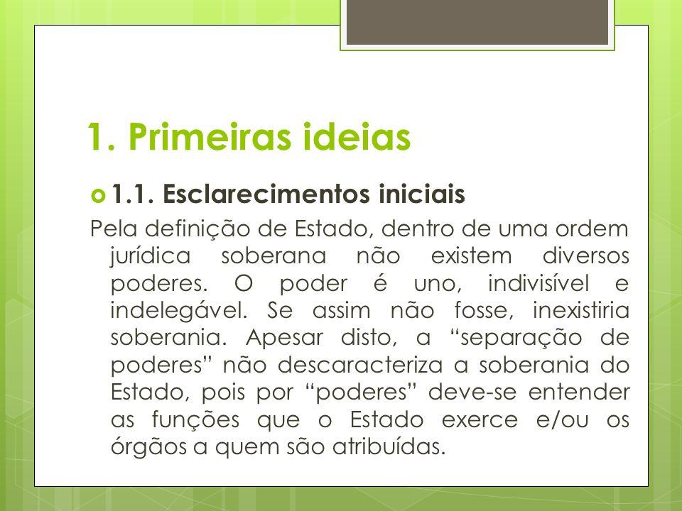 1. Primeiras ideias 1.1. Esclarecimentos iniciais