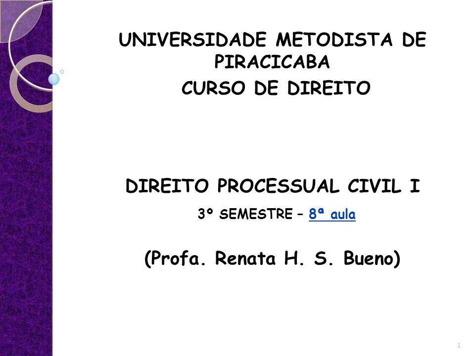 UNIVERSIDADE METODISTA DE PIRACICABA CURSO DE DIREITO