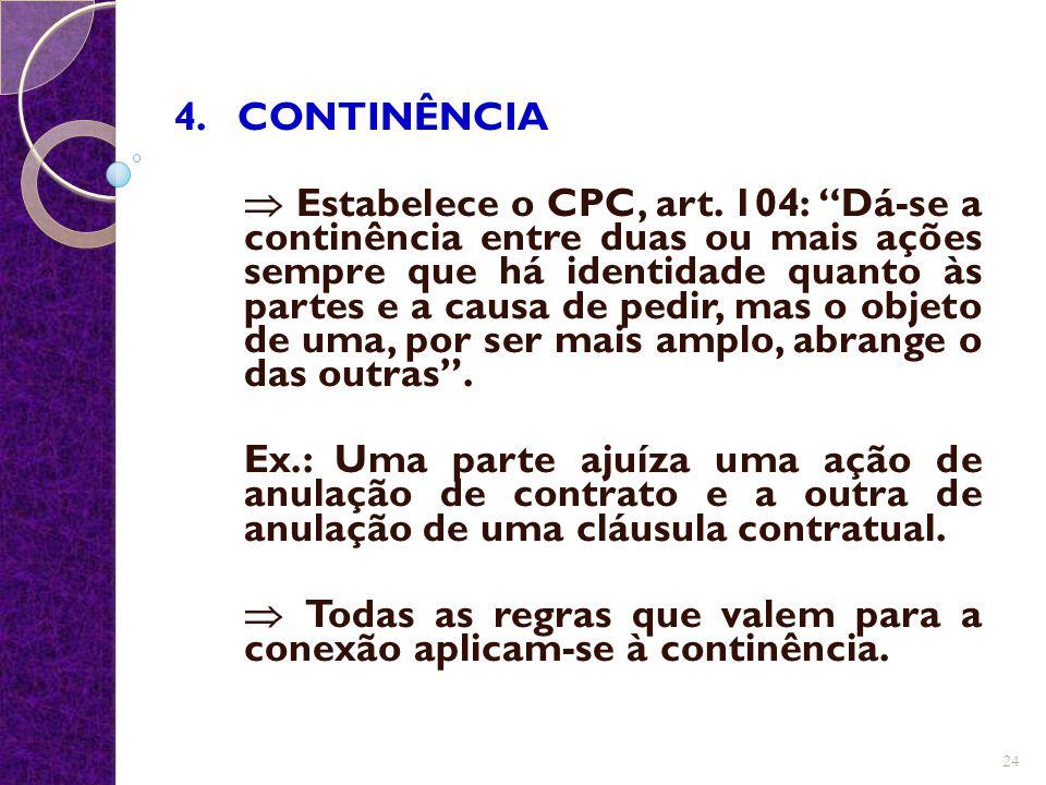 4. CONTINÊNCIA