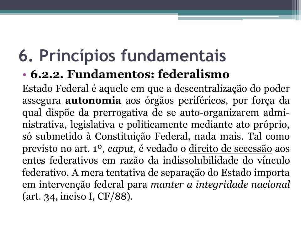 6. Princípios fundamentais