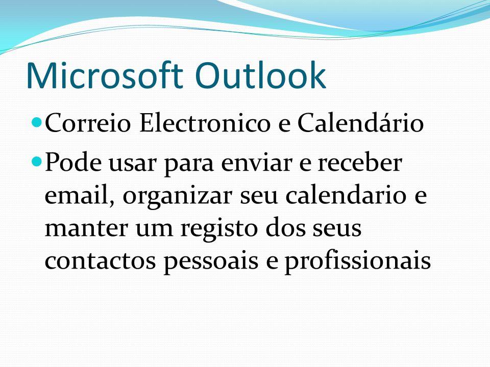 Microsoft Outlook Correio Electronico e Calendário