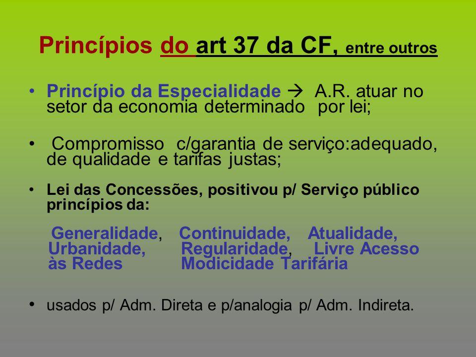 Princípios do art 37 da CF, entre outros