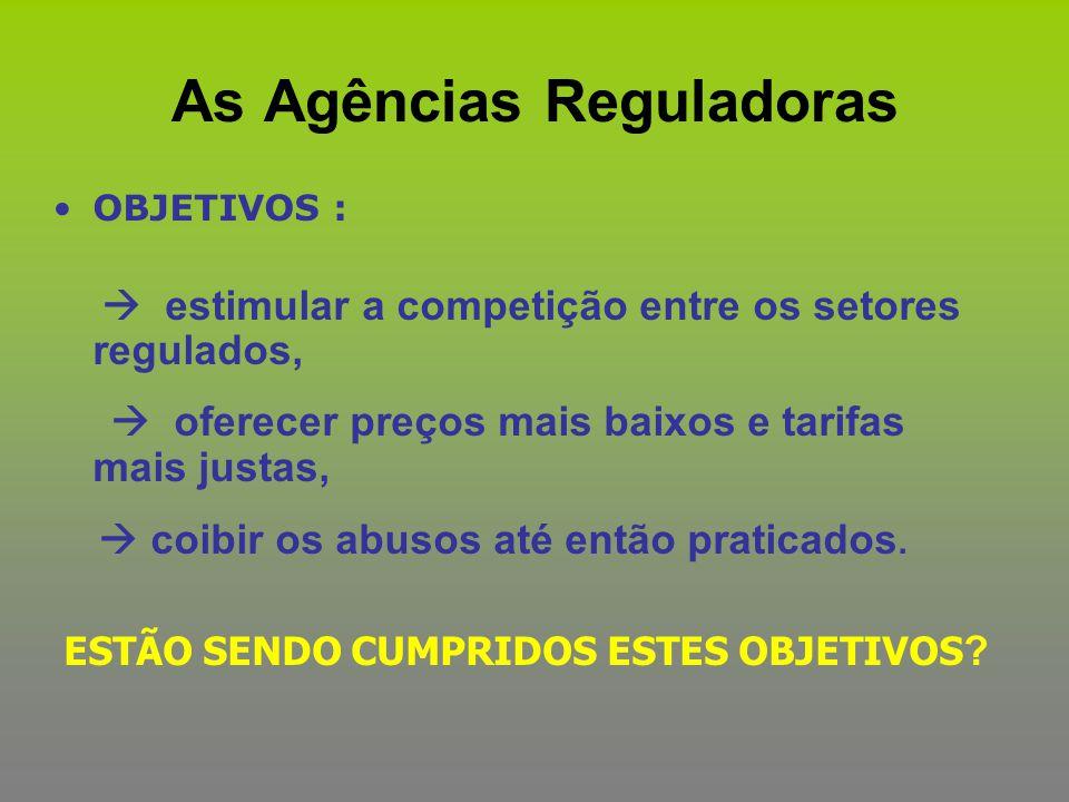 As Agências Reguladoras