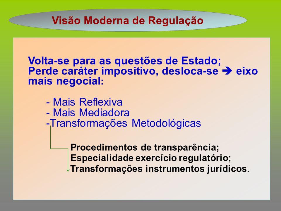 Visão Moderna de Regulação
