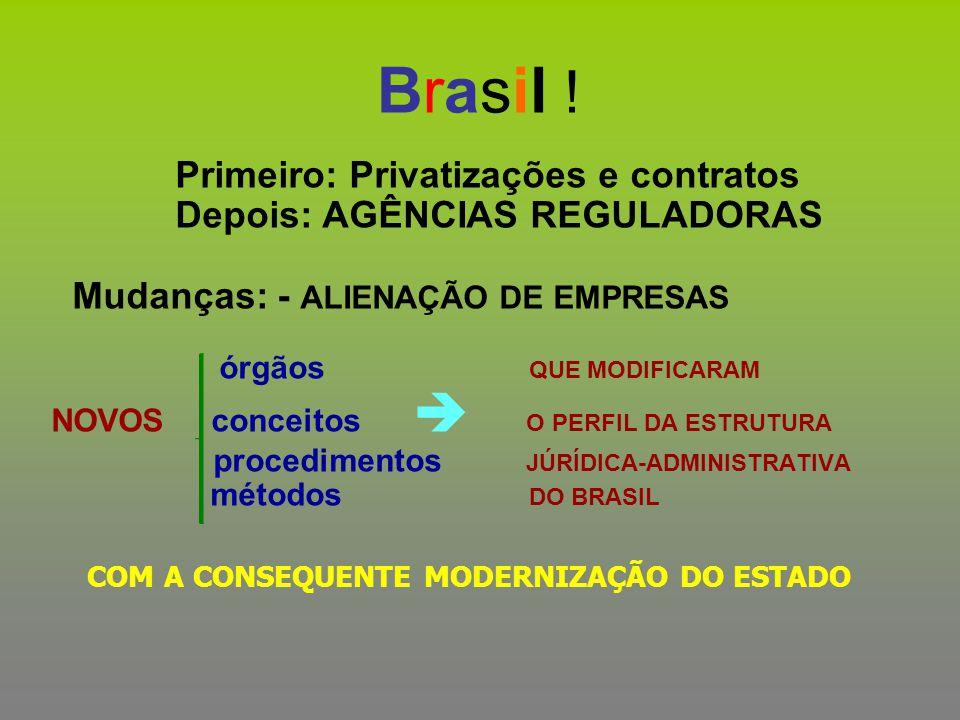 Brasil ! Primeiro: Privatizações e contratos