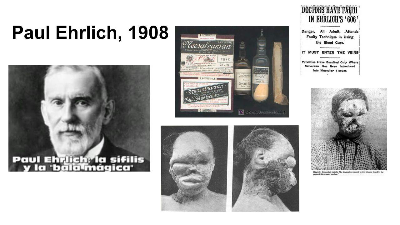 Paul Ehrlich, 1908