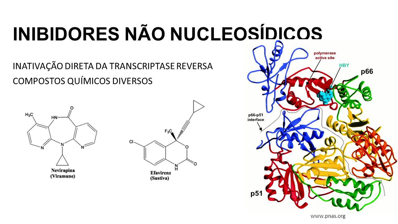INIBIDORES NÃO NUCLEOSÍDICOS