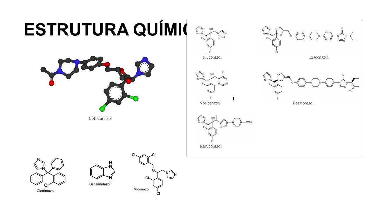 ESTRUTURA QUÍMICA Cetoconazol