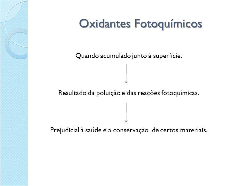 Oxidantes Fotoquímicos