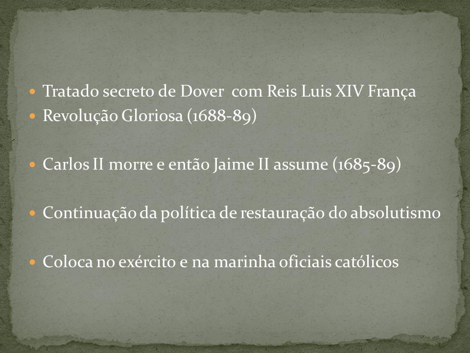 Tratado secreto de Dover com Reis Luis XIV França