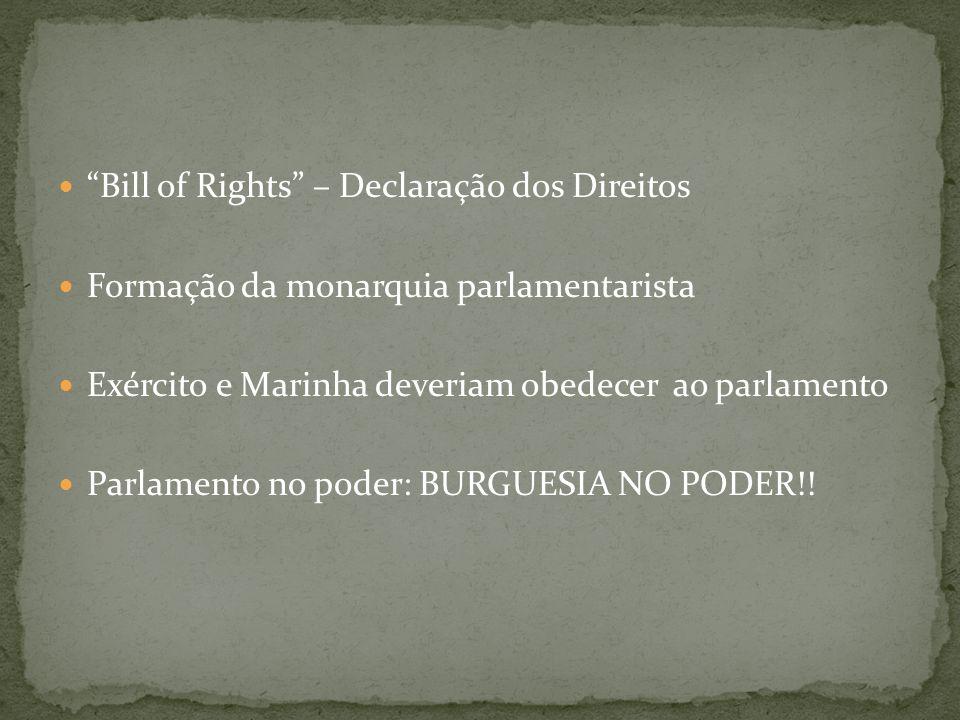Bill of Rights – Declaração dos Direitos