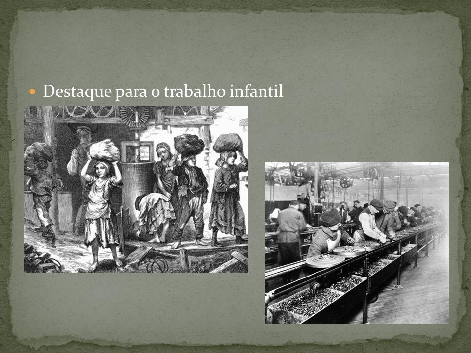Destaque para o trabalho infantil