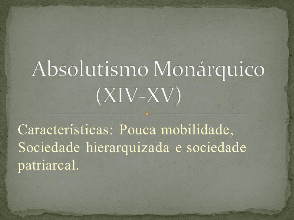Absolutismo Monárquico (XIV-XV)