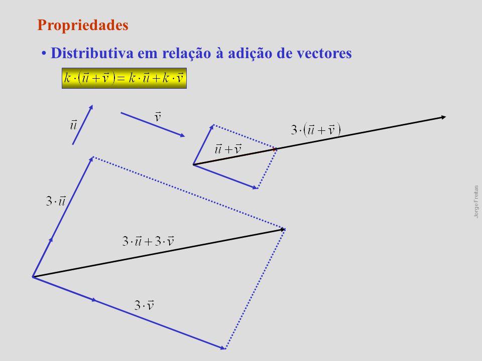 Distributiva em relação à adição de vectores