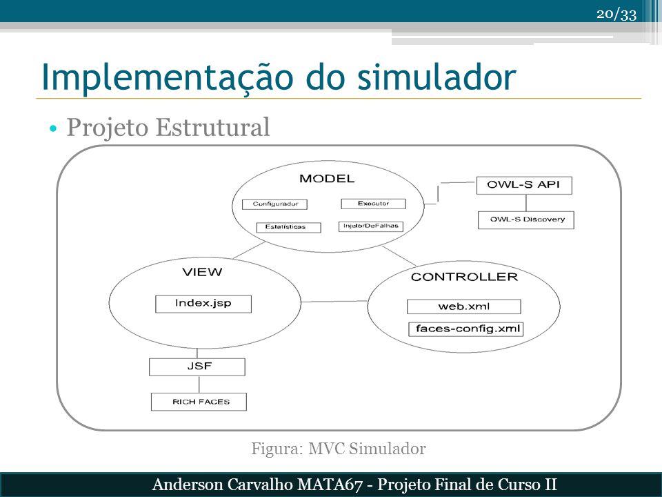 Implementação do simulador