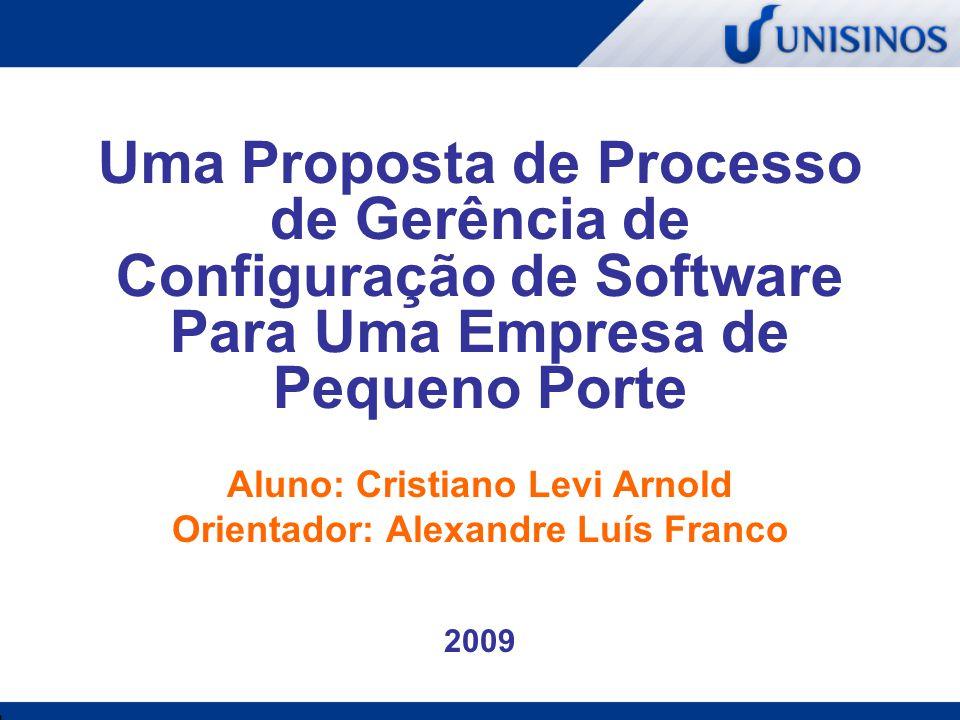 Aluno: Cristiano Levi Arnold Orientador: Alexandre Luís Franco 2009