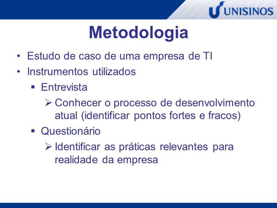 Metodologia Estudo de caso de uma empresa de TI