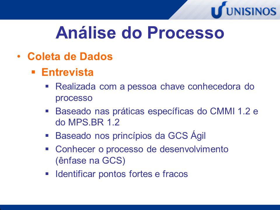 Análise do Processo Coleta de Dados Entrevista