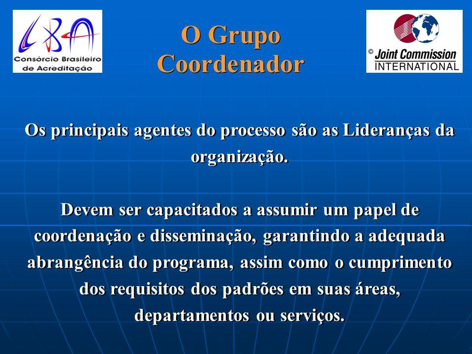 O Grupo Coordenador.