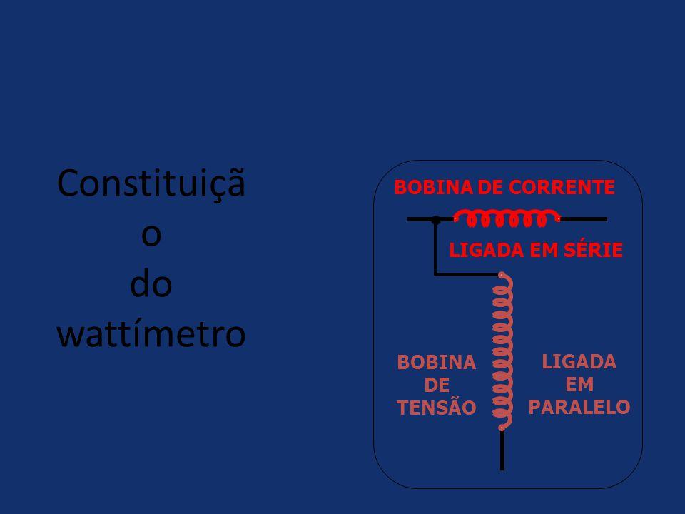 Constituição do wattímetro