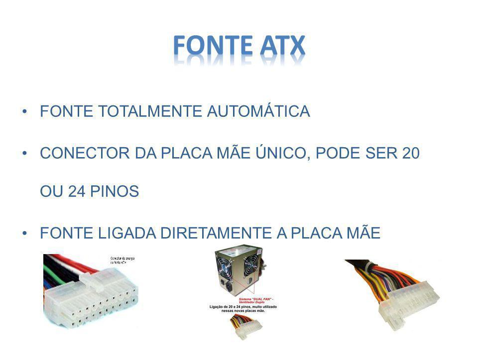 Fonte ATx FONTE TOTALMENTE AUTOMÁTICA