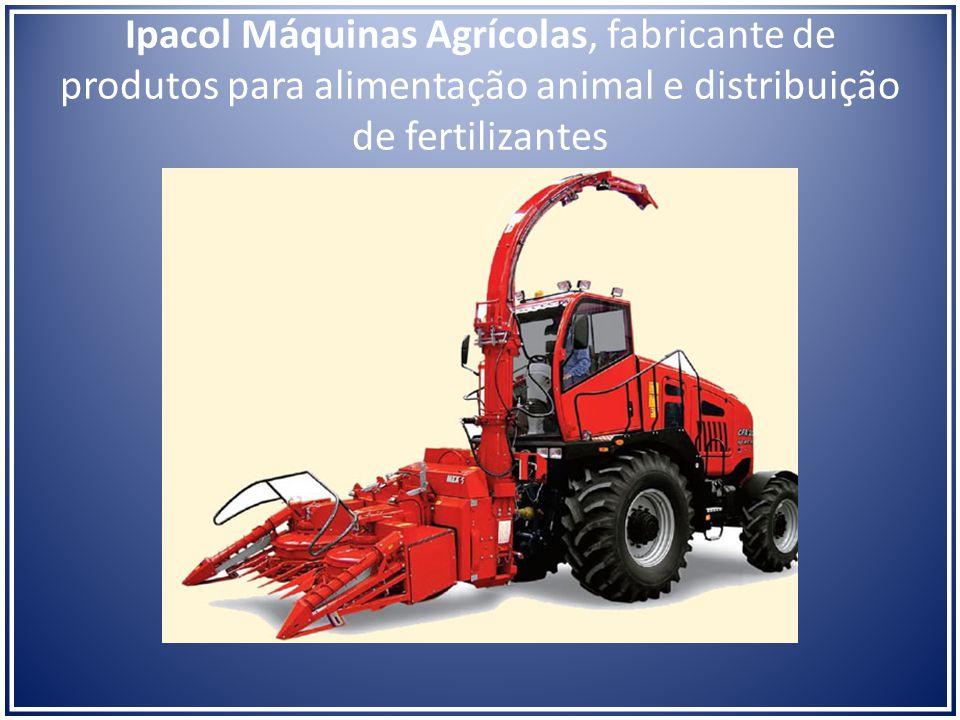 Ipacol Máquinas Agrícolas, fabricante de produtos para alimentação animal e distribuição de fertilizantes