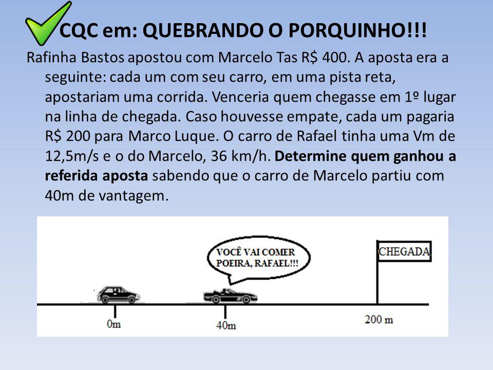 CQC em: QUEBRANDO O PORQUINHO!!!