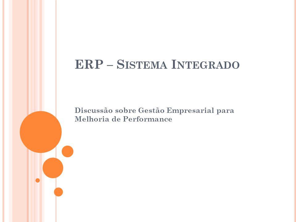 ERP – Sistema Integrado