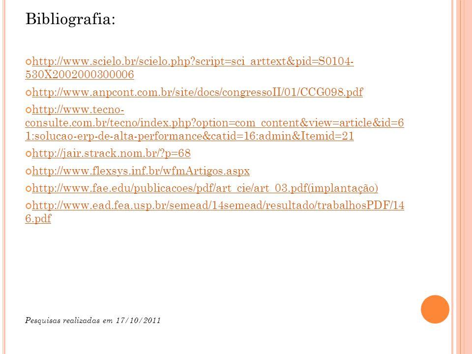 Bibliografia: http://www.scielo.br/scielo.php script=sci_arttext&pid=S0104- 530X2002000300006.