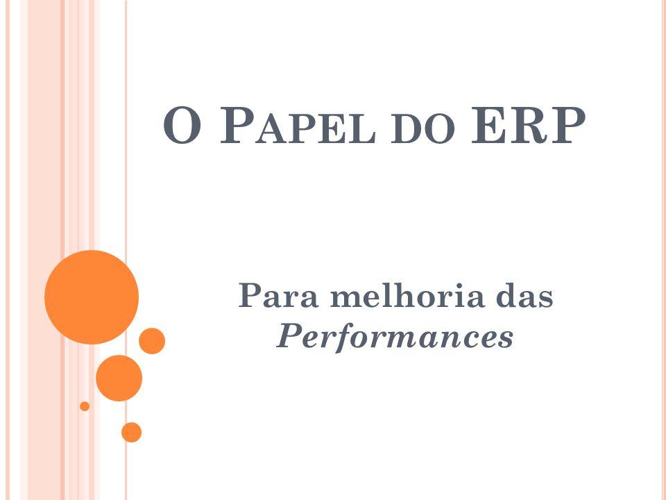 Para melhoria das Performances