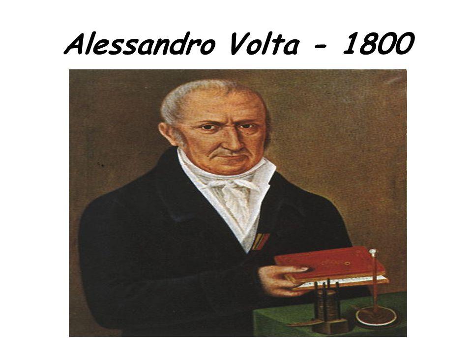 Alessandro Volta - 1800